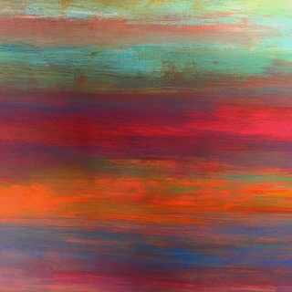 Stewart Mechem Coastal Abstract series acrylic on canvas unframed