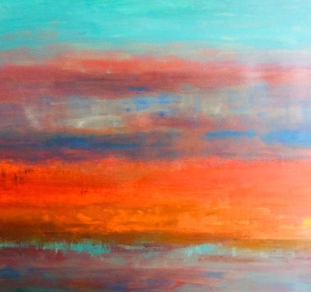Coastal Abstract by Stewart Mechem