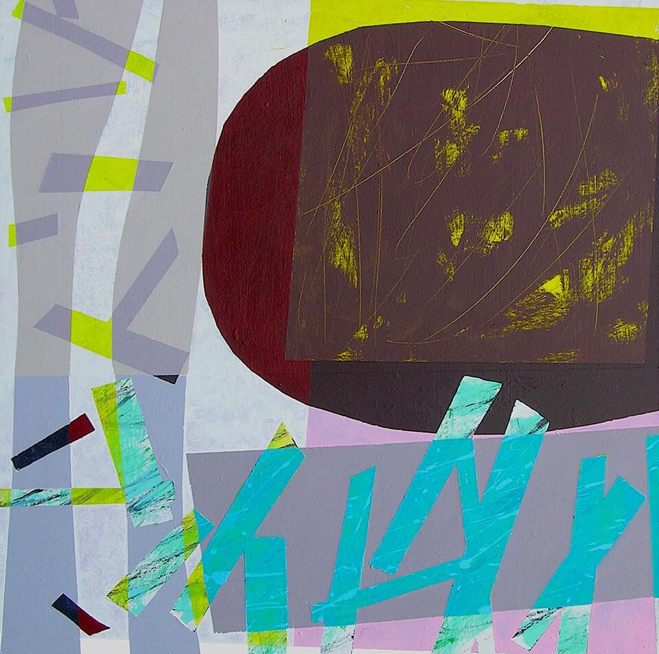 Stephen Powell Stephen Powell 'Soul Mining 2' acrylic on canvas framed