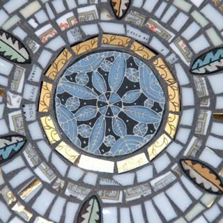 Detail of wall mosaic