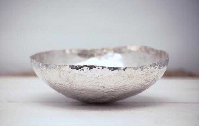 Silver Bowl by Jo Vane