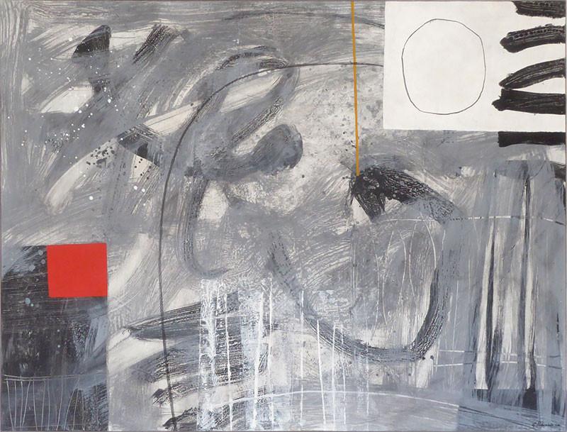 Geoffrey-Robinson-FOREVER-FLED-mixed-media-framed-