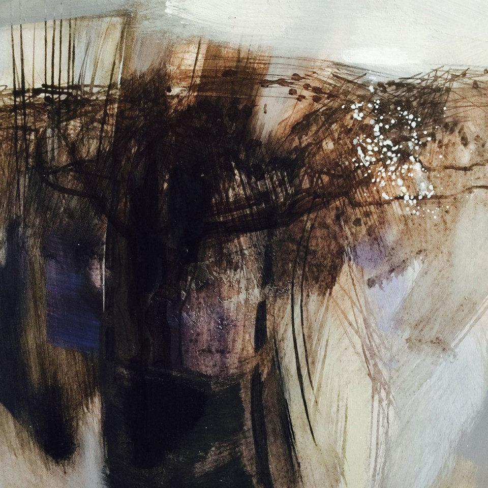 Alison-Bolton-Blackthorn-Winter-Acrylic-on-board_framed