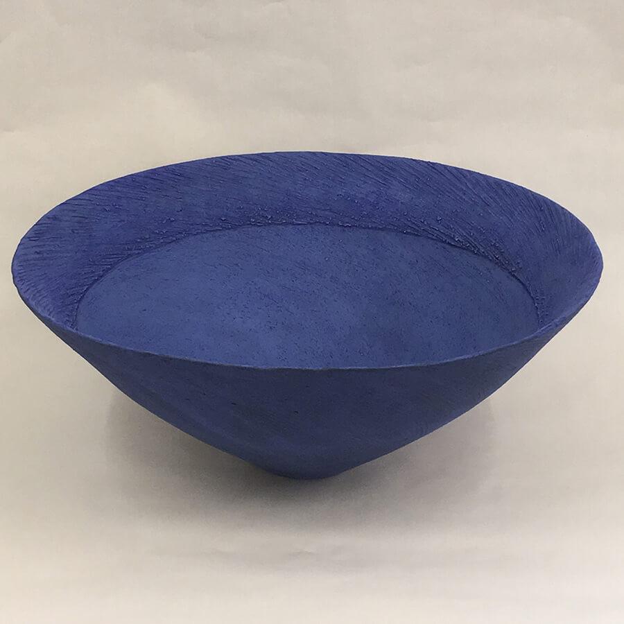 Wendy Farley 'Sea Blue' bowl