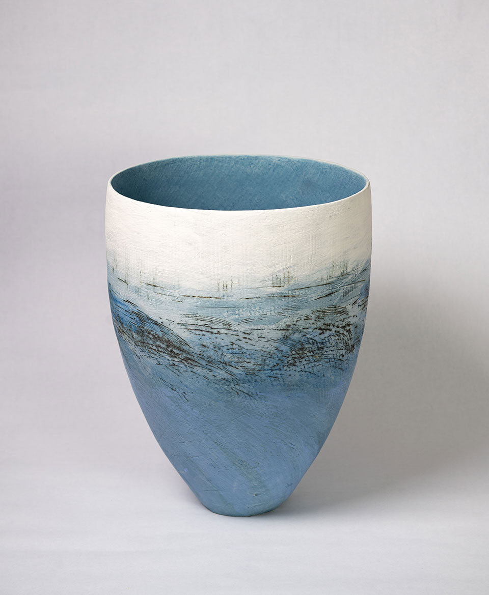 Wendy Farley 'The Shallows' coil vessel