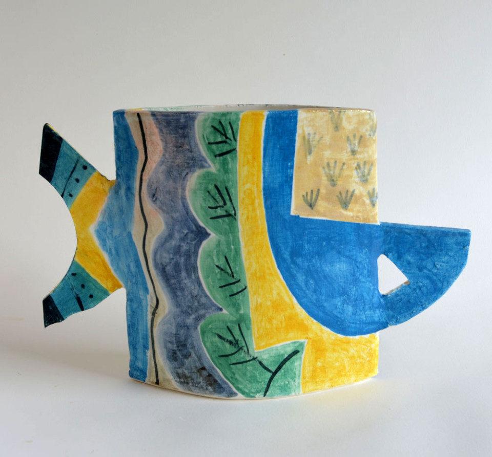 Peter-Arscott-Vertical--Landscape--Vase-stoneware
